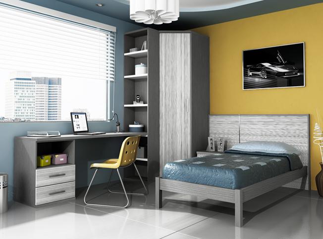 Diseños de dormitorios para adolescentes con mucho color - Consejos ...