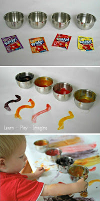 Kool Aid Finger Paint Recipe