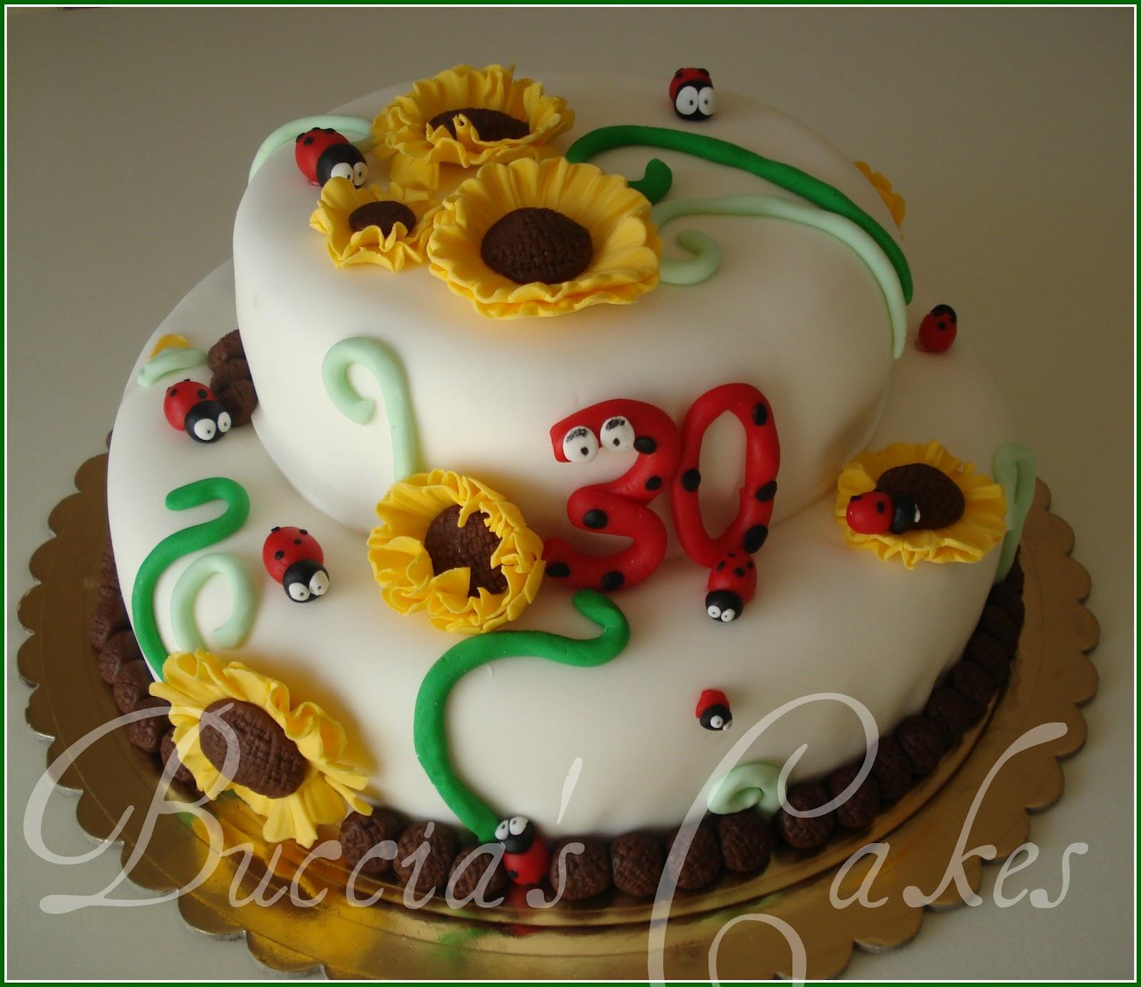 Torte Matrimonio Girasoli : Buccia s cakes torta girasoli