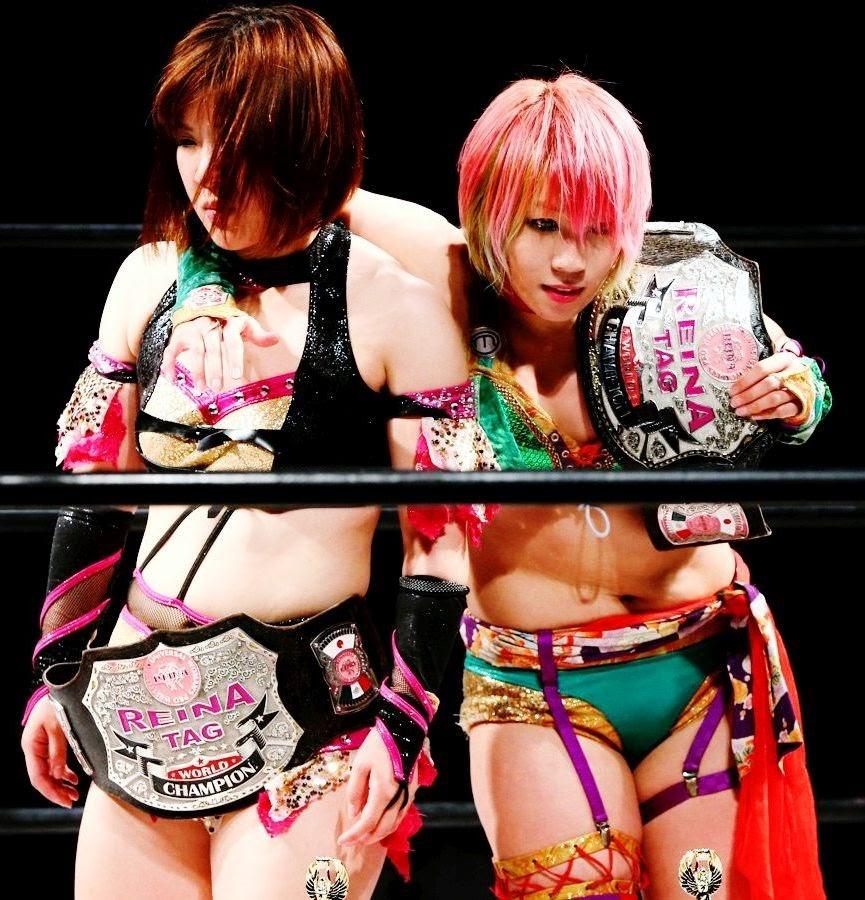 Arisa Nakajima and Kana - Japanese Women's Wrestling