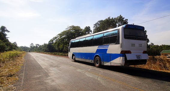 A trip from Koh Kong to Phnom Penh by bus