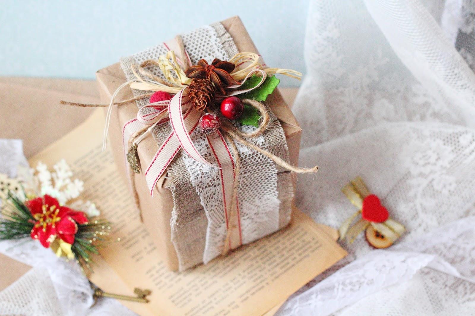 Упаковка подарка другу 56