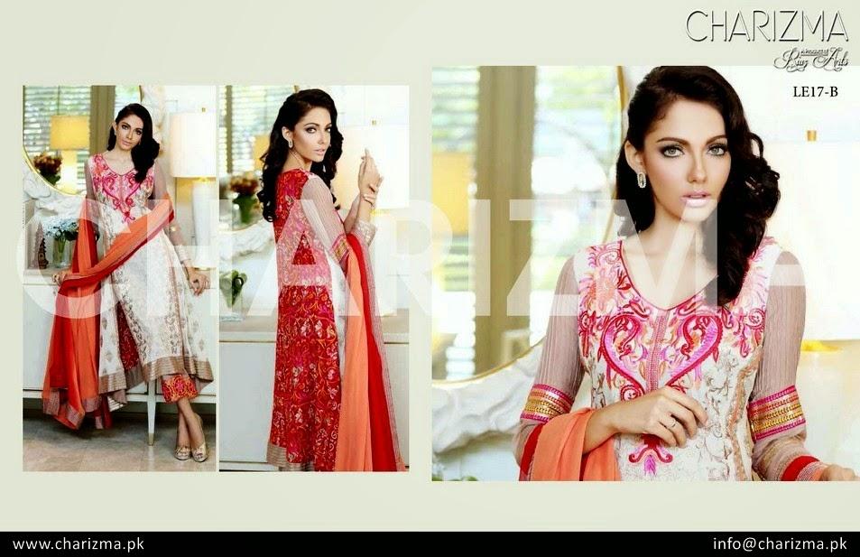 Charizma Eid Dresses 2014
