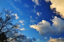 Blauer Himmel...