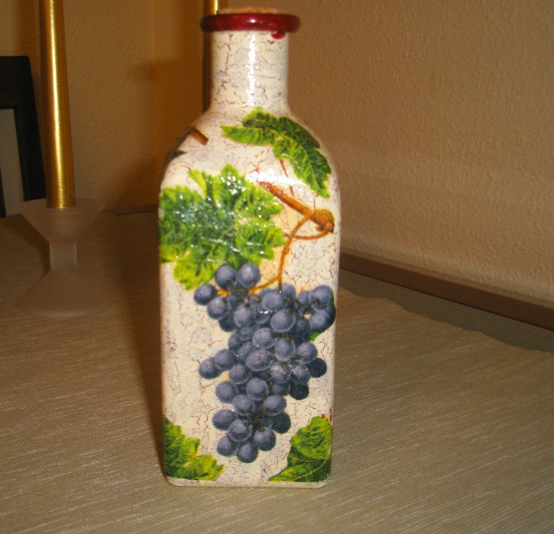 Botellas de vino decoradas - Botellas de vino decoradas ...