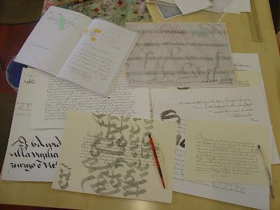tre calligraphy