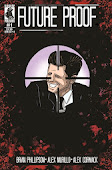 Free digital download of the black & white preview issue of Future Proof #1 via DriveThrucomics