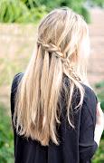 Summer HairWaterfall Braid
