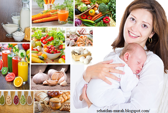 makanan sehat ibu menyusui
