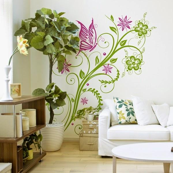 Papel pintado nuevos vinilos florales - Papel pintado vinilo ...