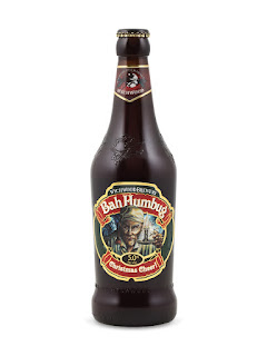 Bah Humbug Christmas Cheer Bottle