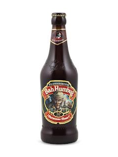 Bah Humbug Christmas Cheer Bottle