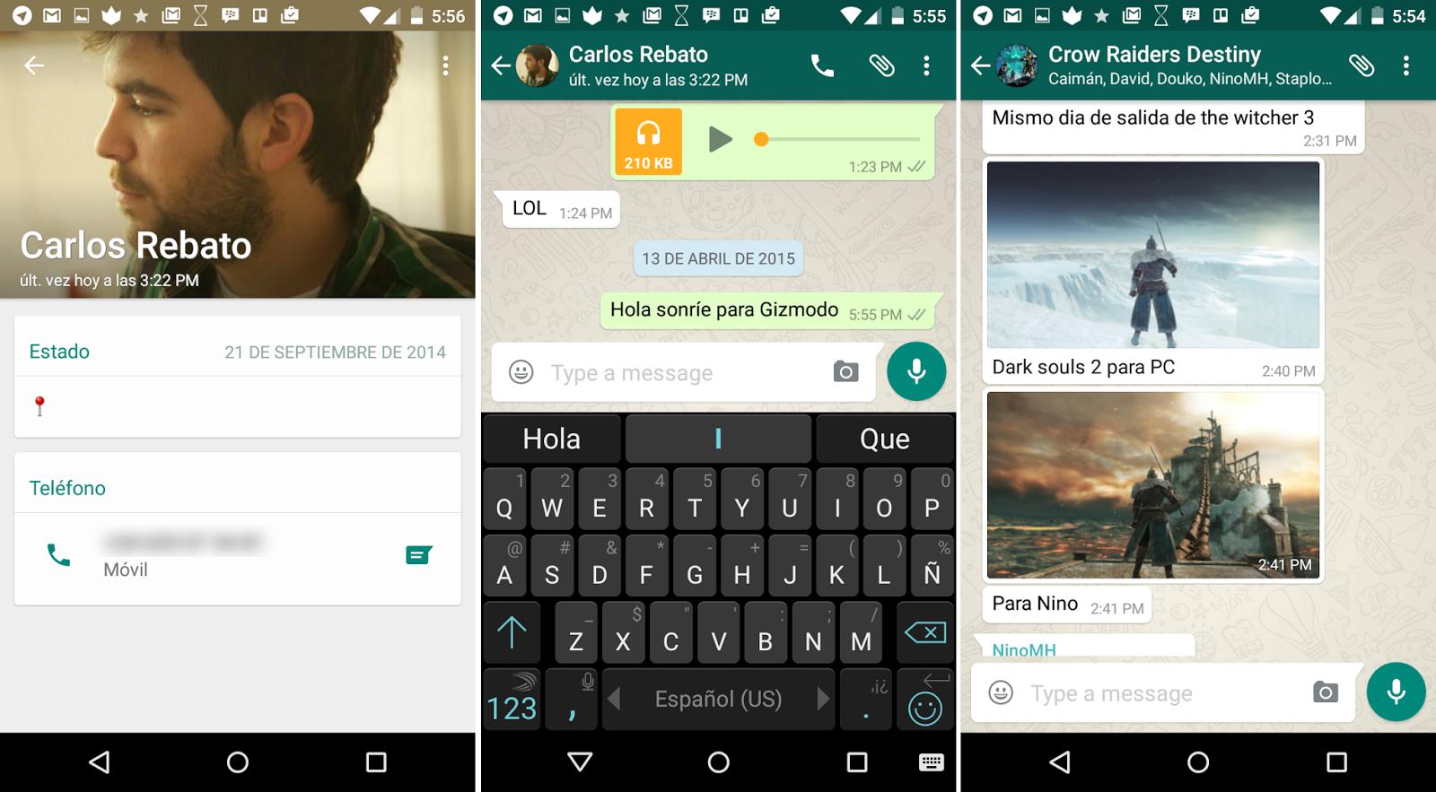 WhatsApp Cambia Su Imagen En Android Para Adaptarse A Material Design