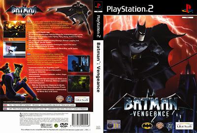 Batman Vengeance PS2 DVD Capa