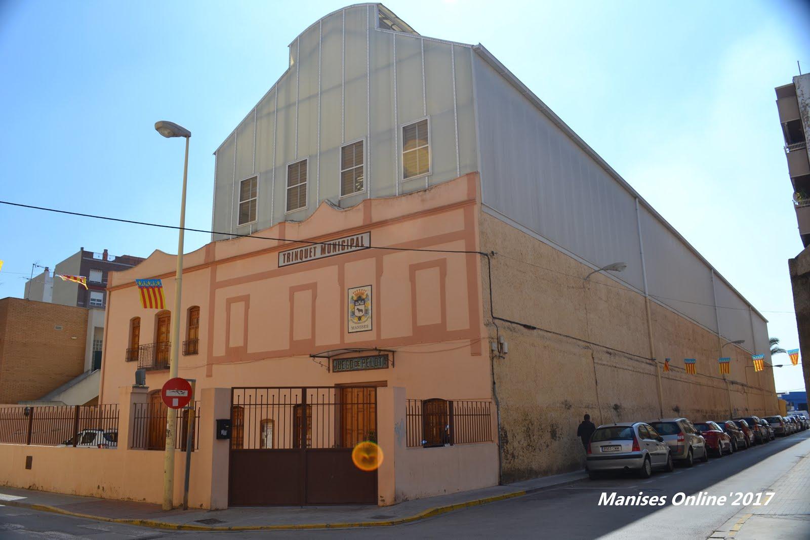06.10.17 TRINQUET MUNICIPAL DE MANISES JUAN BLASCO NAVARRO