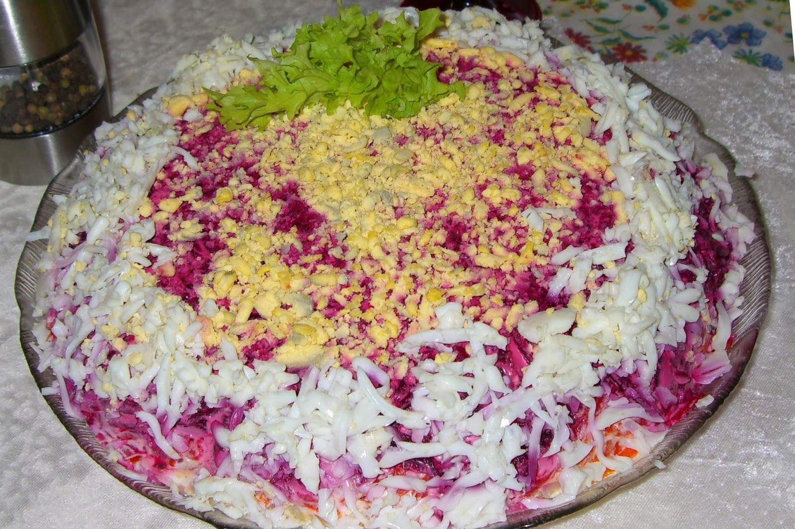 Как приготовить салат селедку под шубой с фото