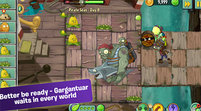 nueva actualizacion plants vs zombies 2