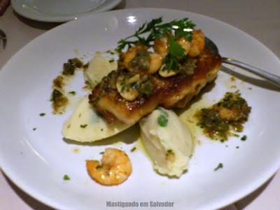 Boteco Gourmet: Peixe na Brasa a Belle Meuniere