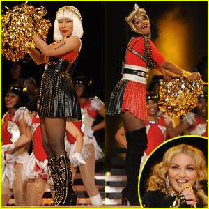 Madonna deslumbró jugadores, fanáticosa y millones de personas en todo el mundo