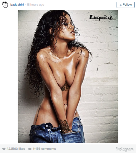 Rihanna's Racy Cover Shoot For 'Esquire UK' Will Make Your Jaw Drop