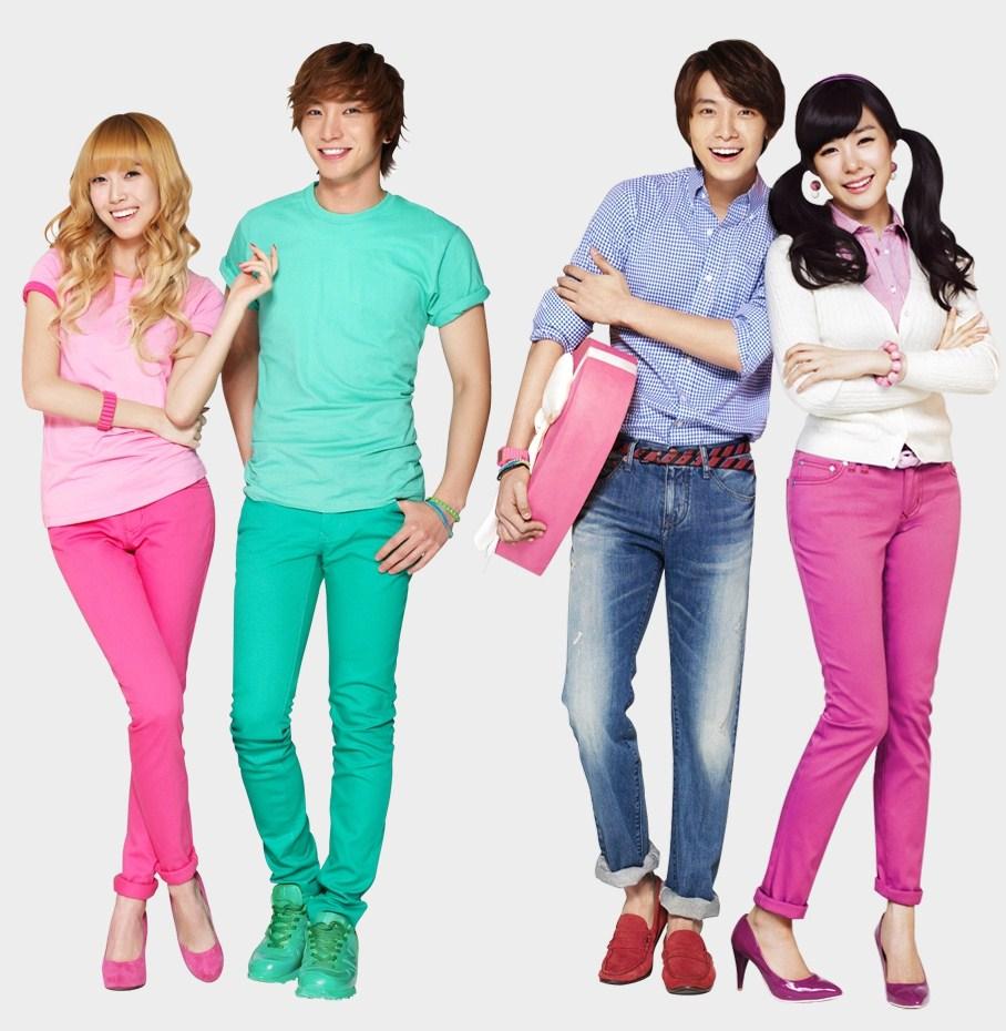 baik laki laki atau perempuan mereka gak takut pake baju yang warnanya