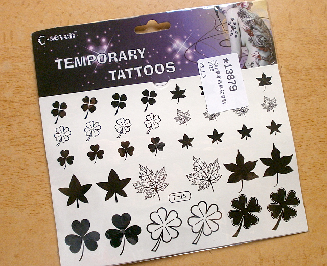 Temporary Tattoos de Born Pretty Store, jugando a ser niñas