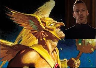 Falk Hentschel cast as Hawkman