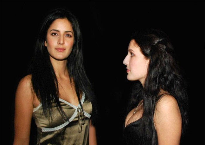 Katrina with sister Isabel Photo | Katrina Kaif