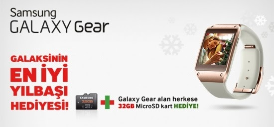 galaxy gear hediye