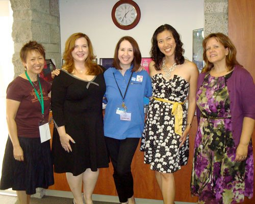 and moderated a fabulous panel of teen authors. Lisa Yee, Gretchen McNeil, ...