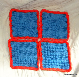 Swirls and Sprinkles: free crochet afgahn alphabet block/square pattern