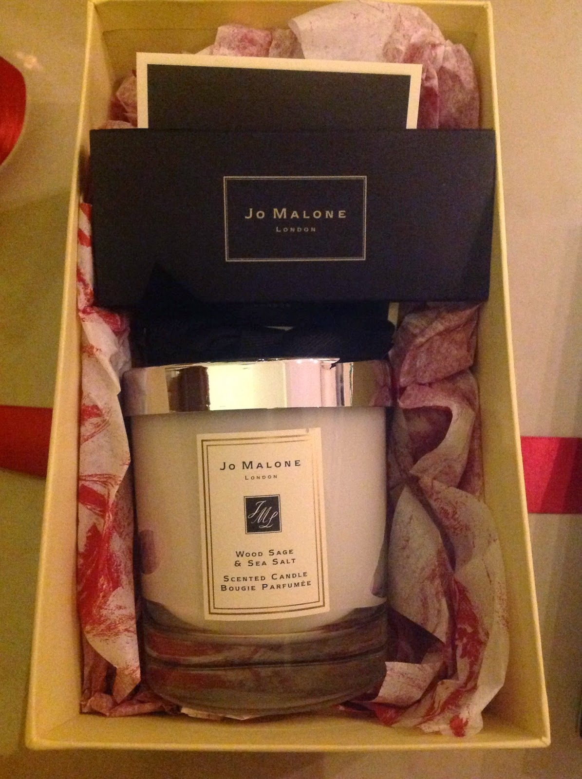Jo Malone Wood Sage and Sea Salt Candle
