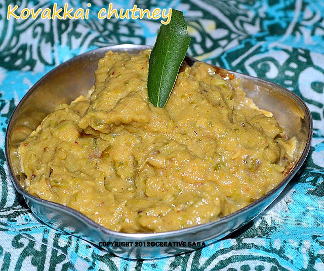 kovakkai chuney recipe