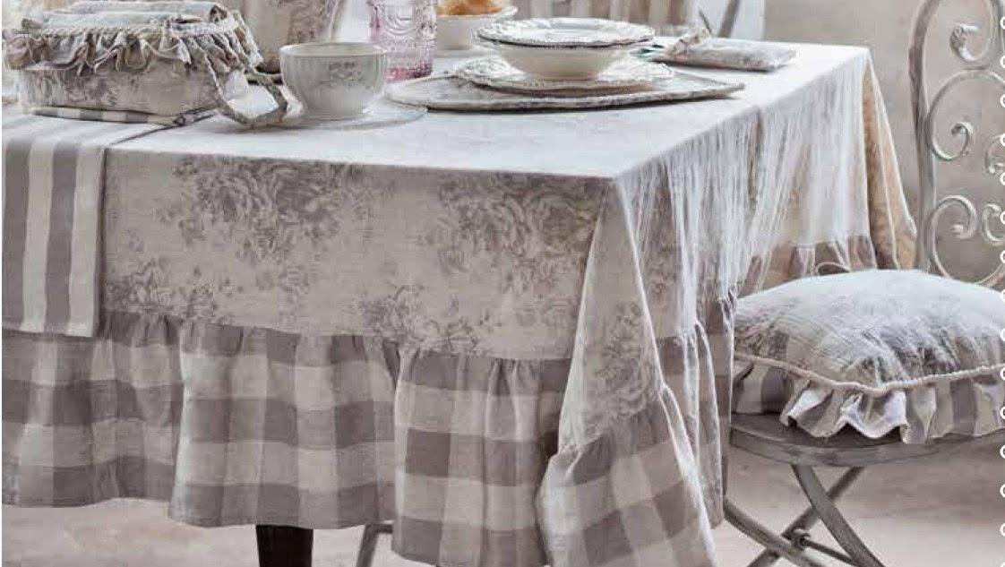 Nuovi arrivi blanc maricl romantic garden collection for Tovaglie shabby