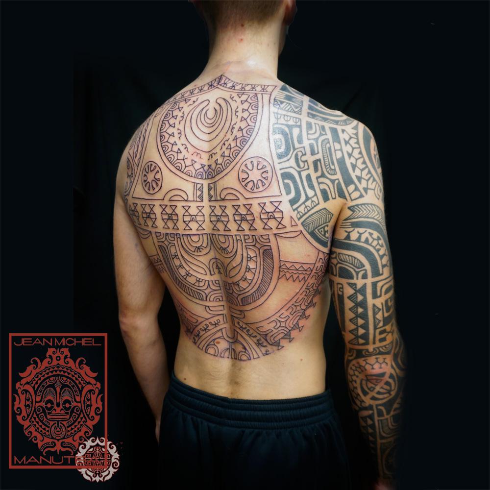 tatouage polynesien polynesian tattoo samoa and tahiti. Black Bedroom Furniture Sets. Home Design Ideas