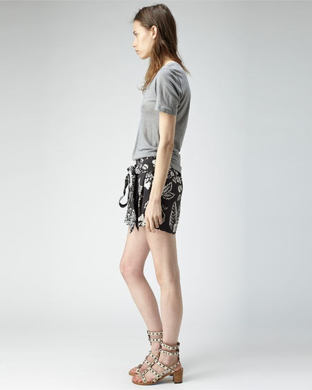 Isabel Marant Spring 2013 outfit; Lester Sandals