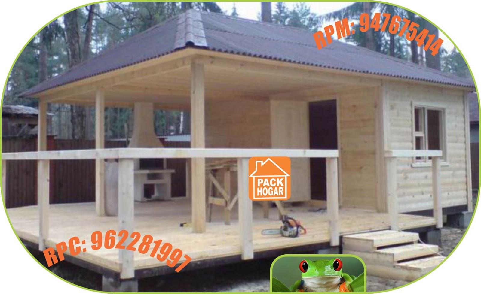 Casas de campo playa prefabricadas de madera economicas for Modelos de casas de madera de un piso