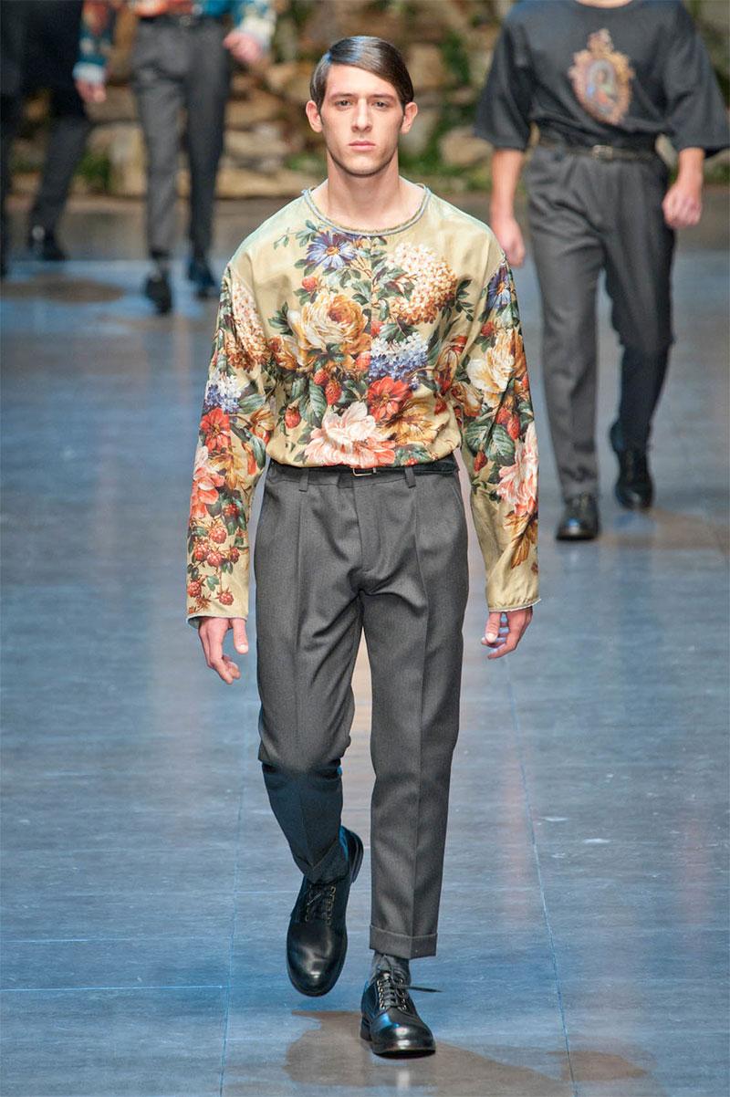 f9e852d2b145 Dolce   Gabbana Fall Winter 2013 Menswear