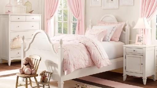 Mi Casa....Mi Hogar: Dormitorios para Niñas Estilo Romántico