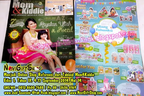 TabloidMom%26Kiddie NoviGiftShop Mom Kiddie MNC Majalah Tabloid About JualSouvenirUltahAnak.com