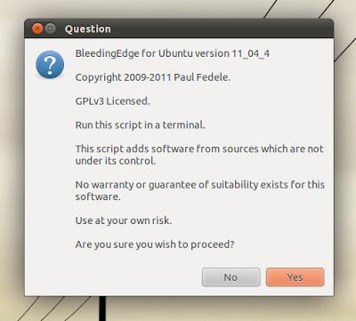 Bleeding Edge Ubuntu Script
