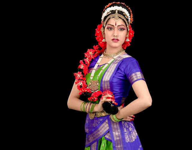 Indian Classical Dance Pose By: Aneesha
