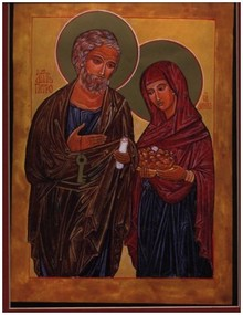St. Peter With Wife