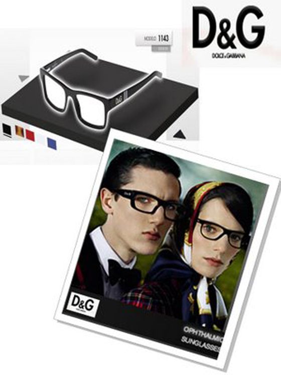 Colección D&G eyewear