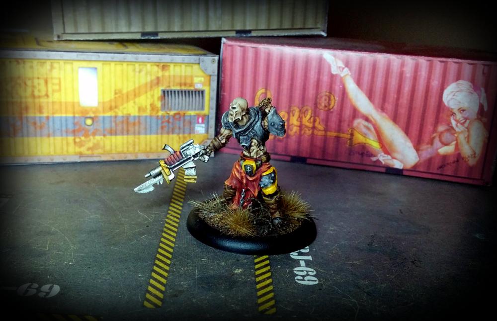 Warzone Resurrection - Necromutant Leader - Dark Legion - Algeroth - left