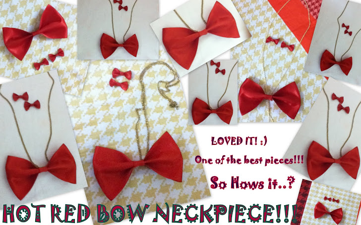 red bow neckpiece