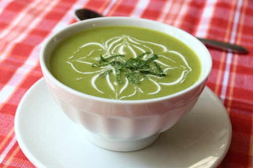 "Chilled Sugar Snap Pea Soup  – Ain't Nuthin' But a ""P"" Thang, Baby!"