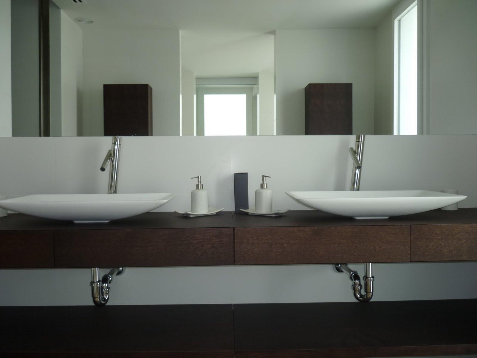 Ba o i encimeras wengue terral muebles a medida y - Banos con encimera ...