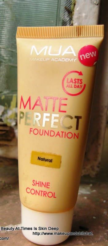 MUA Makeup Academy Foundation Matte Perfect Natural