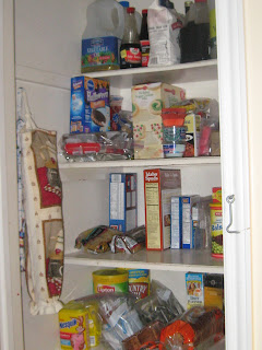 30 Day Paleo Challenge - Pantry After